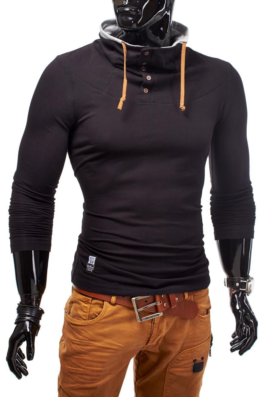 Longsleeve mit Hochkragen Langarmshirt Figurbetont Radiance Stretch Slim Fit
