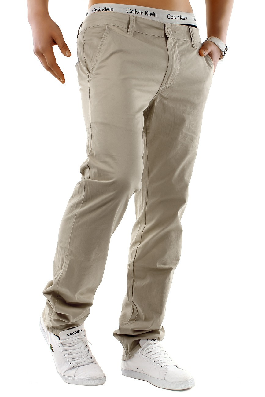 CHINO Estate Colori Stil Hose Regular Jeans Fit Chinohose Trousers Chinos