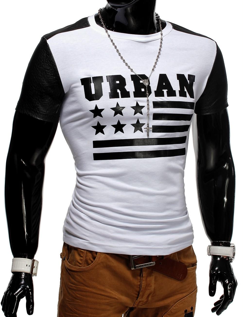 herren t shirt unisex polo sterne clubwear urban usa nation flag ebay. Black Bedroom Furniture Sets. Home Design Ideas