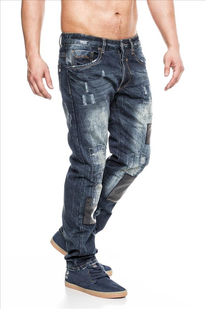 ausgefallene herren jeans hose four star id1311 regular. Black Bedroom Furniture Sets. Home Design Ideas