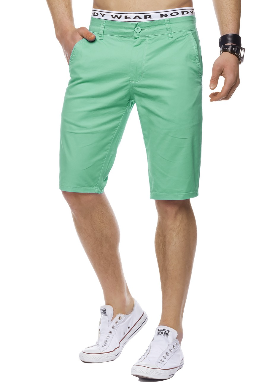 herren chino shorts bermuda stretch slim fit chinoshorts kurz elegant kurze hose ebay. Black Bedroom Furniture Sets. Home Design Ideas