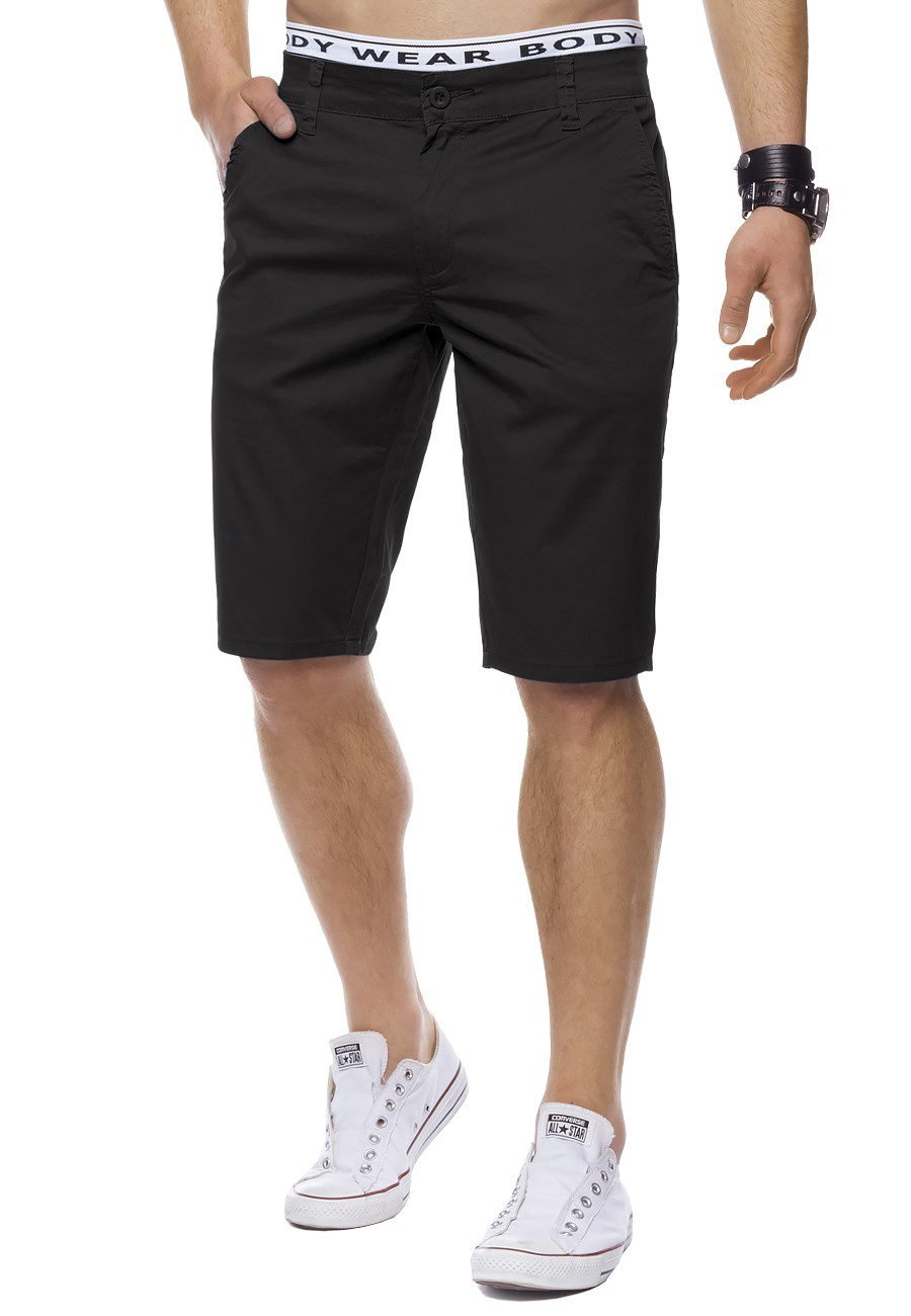herren chino shorts bermuda stretch slim fit chinoshorts. Black Bedroom Furniture Sets. Home Design Ideas