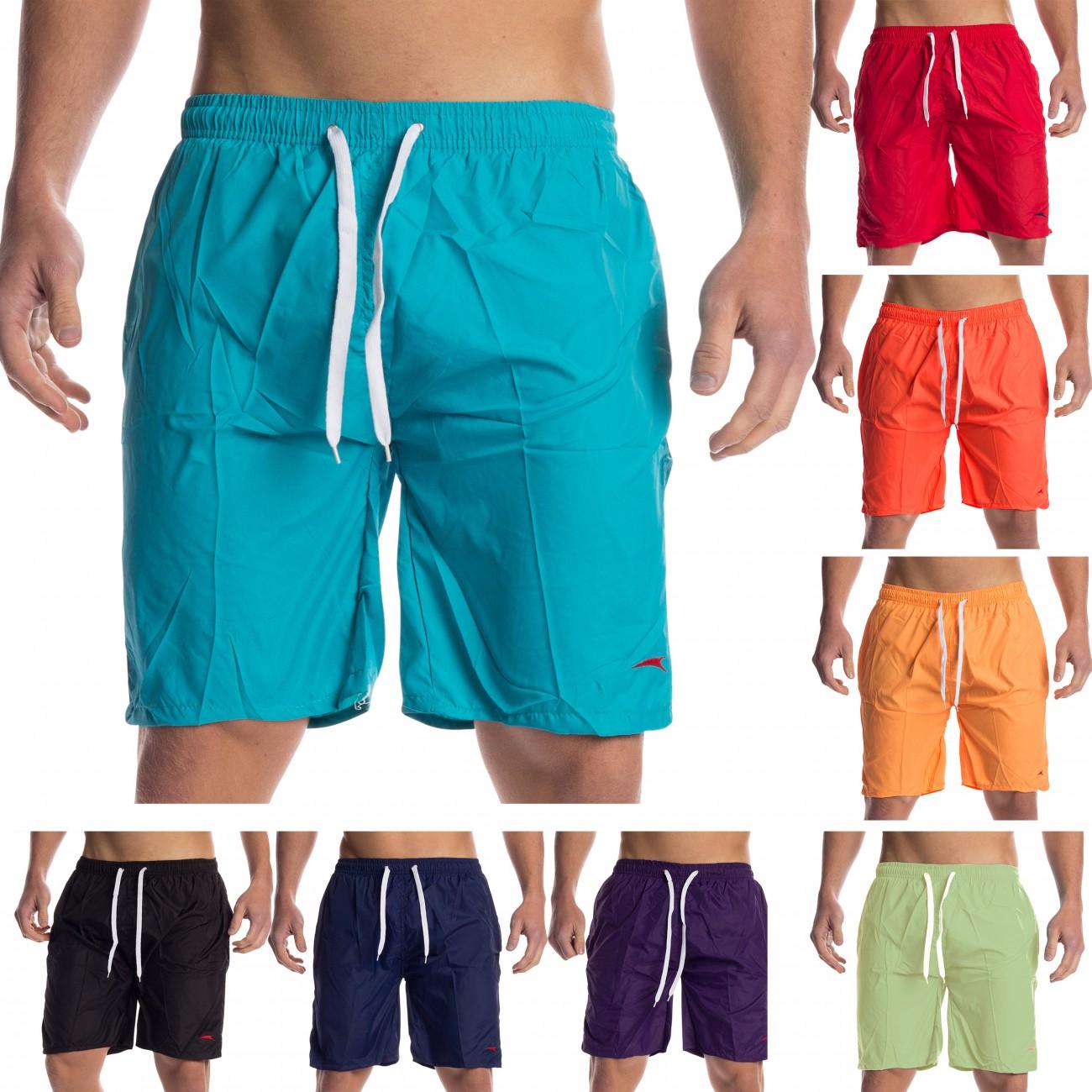 badeshorts herren shorts kurze hose bermuda badehose kurz sommer schwimmhose ebay. Black Bedroom Furniture Sets. Home Design Ideas