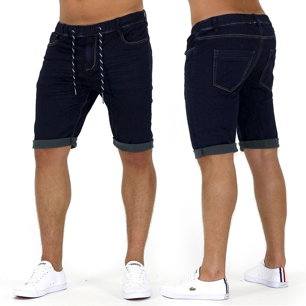 herren capri goonsquad jogging shorts kurze hose stretch jogg jeans slim fit de2 ebay. Black Bedroom Furniture Sets. Home Design Ideas