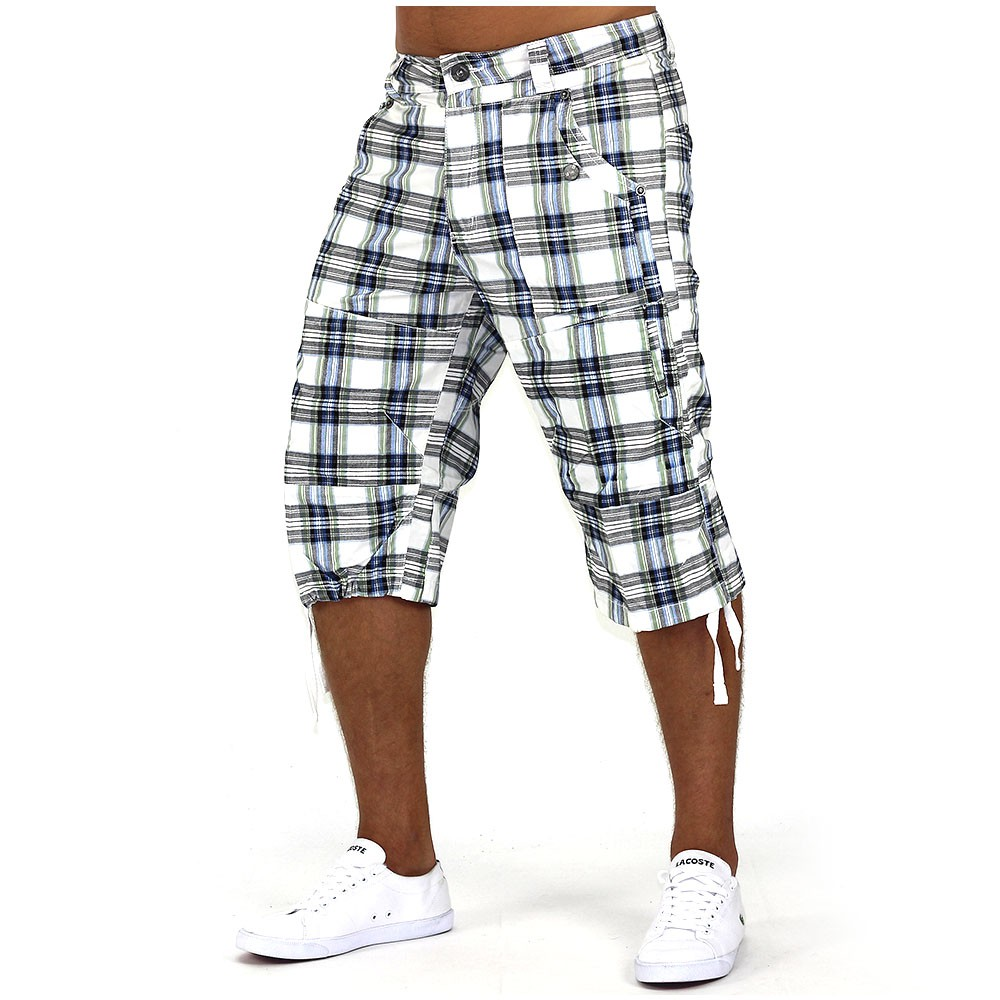 herren shorts the hood bermuda cargo capri kurze hose short 3 4 ebay. Black Bedroom Furniture Sets. Home Design Ideas