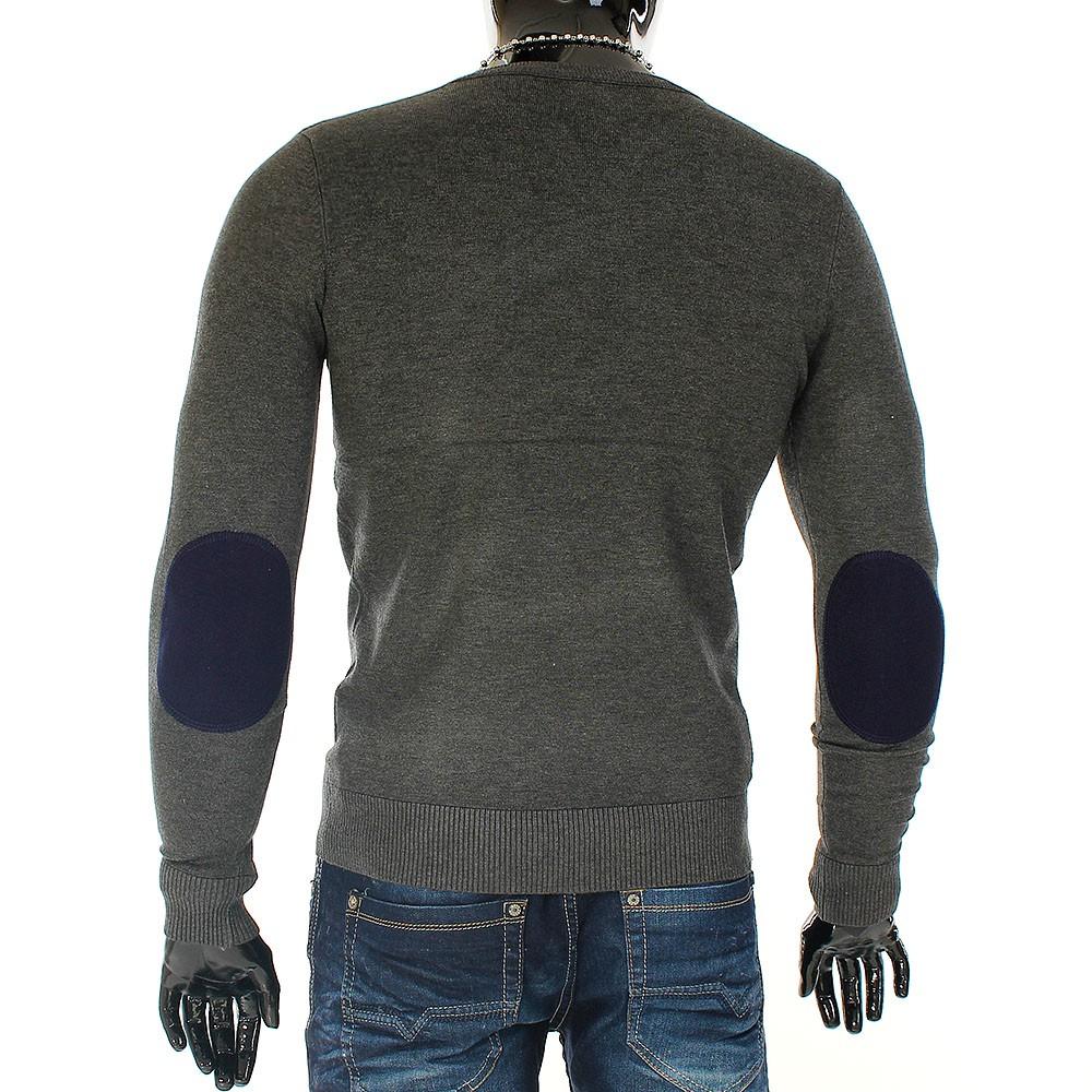 pullover mit ellenbogen patches herren review pullover. Black Bedroom Furniture Sets. Home Design Ideas
