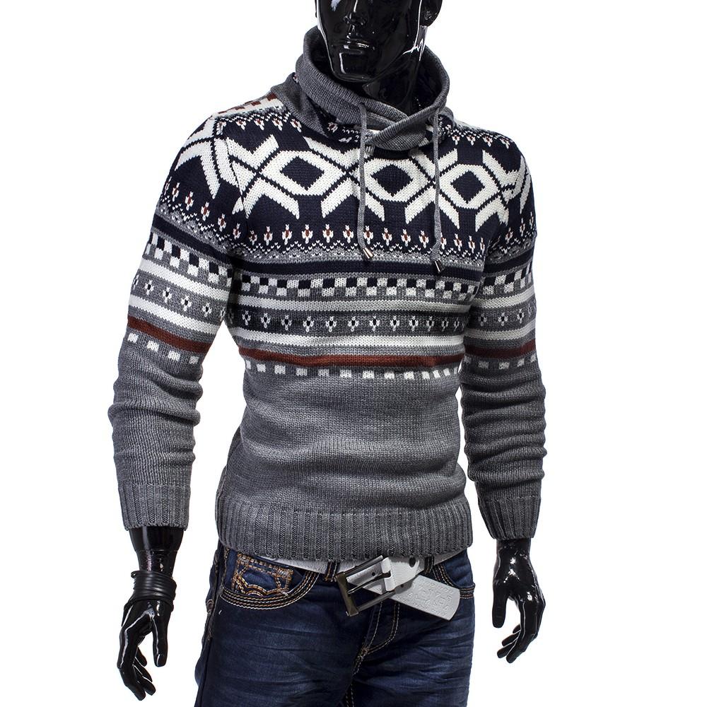 MC Grobstrick Strickjacke Pullover Sweatjacke Sweatshirt Strick Aspen USA Plus
