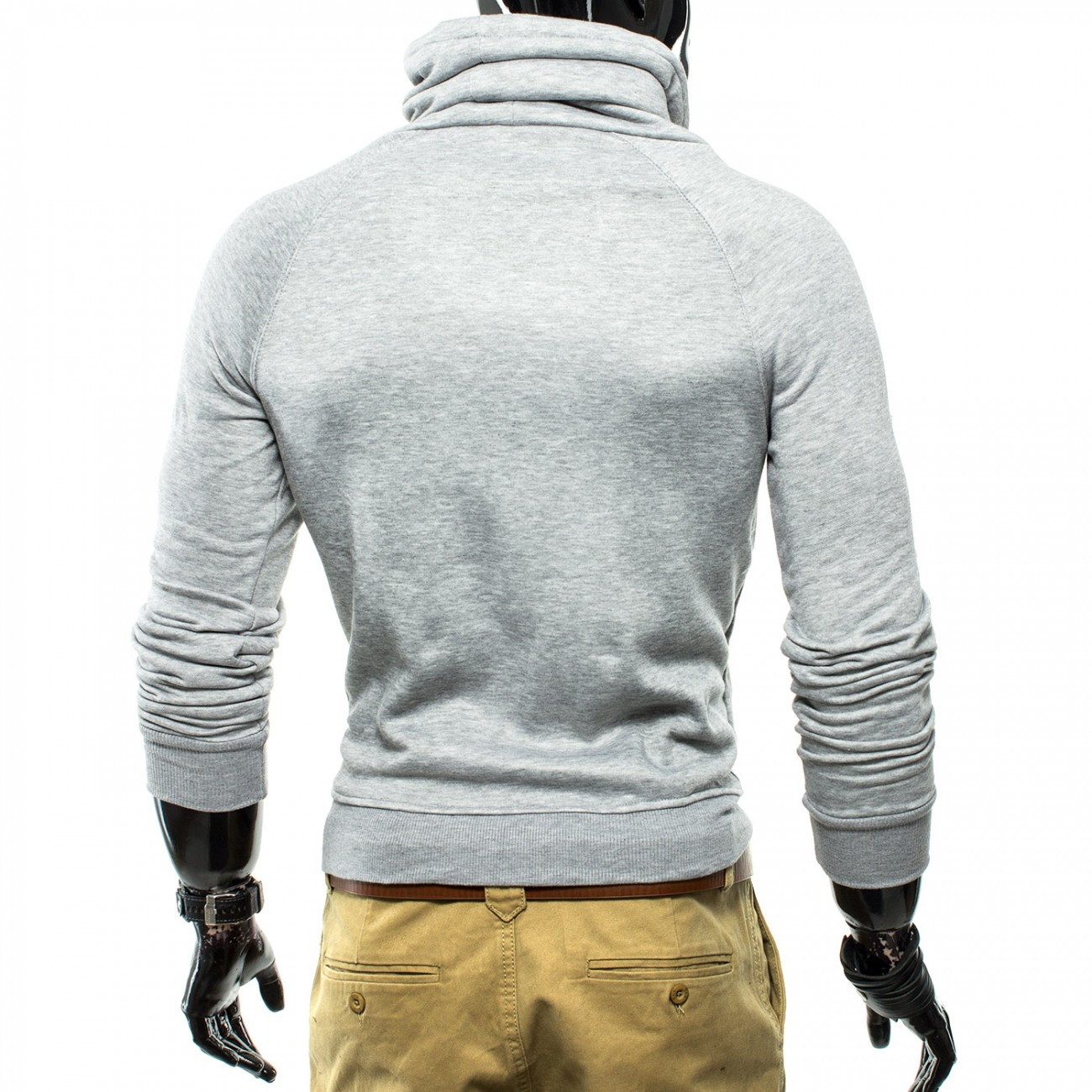 herren pullover assassin mit kragen id1147 herrenmode. Black Bedroom Furniture Sets. Home Design Ideas