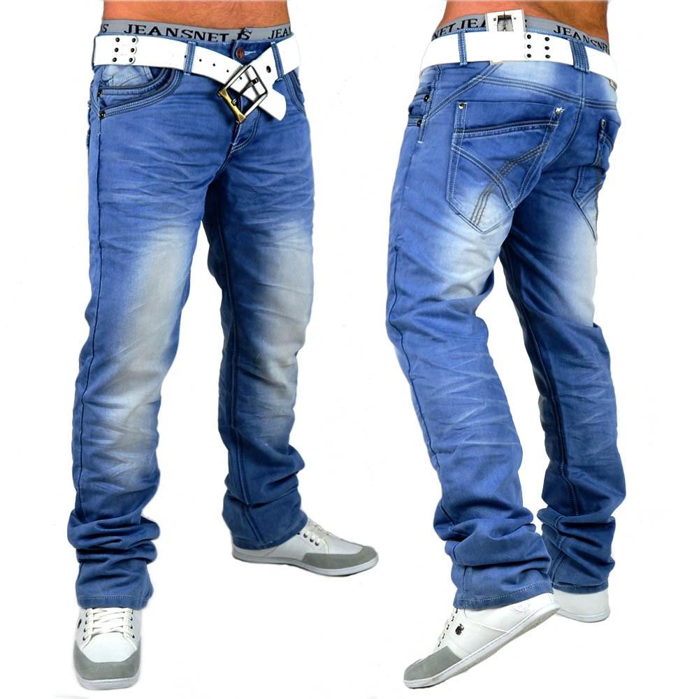 herren jeans boxer id603 slim fit gerades bein. Black Bedroom Furniture Sets. Home Design Ideas