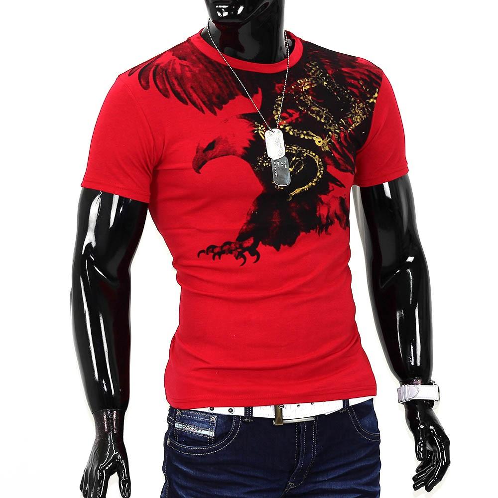 herren sommer t shirt polo stretch slim fit clubwear shirt flying. Black Bedroom Furniture Sets. Home Design Ideas