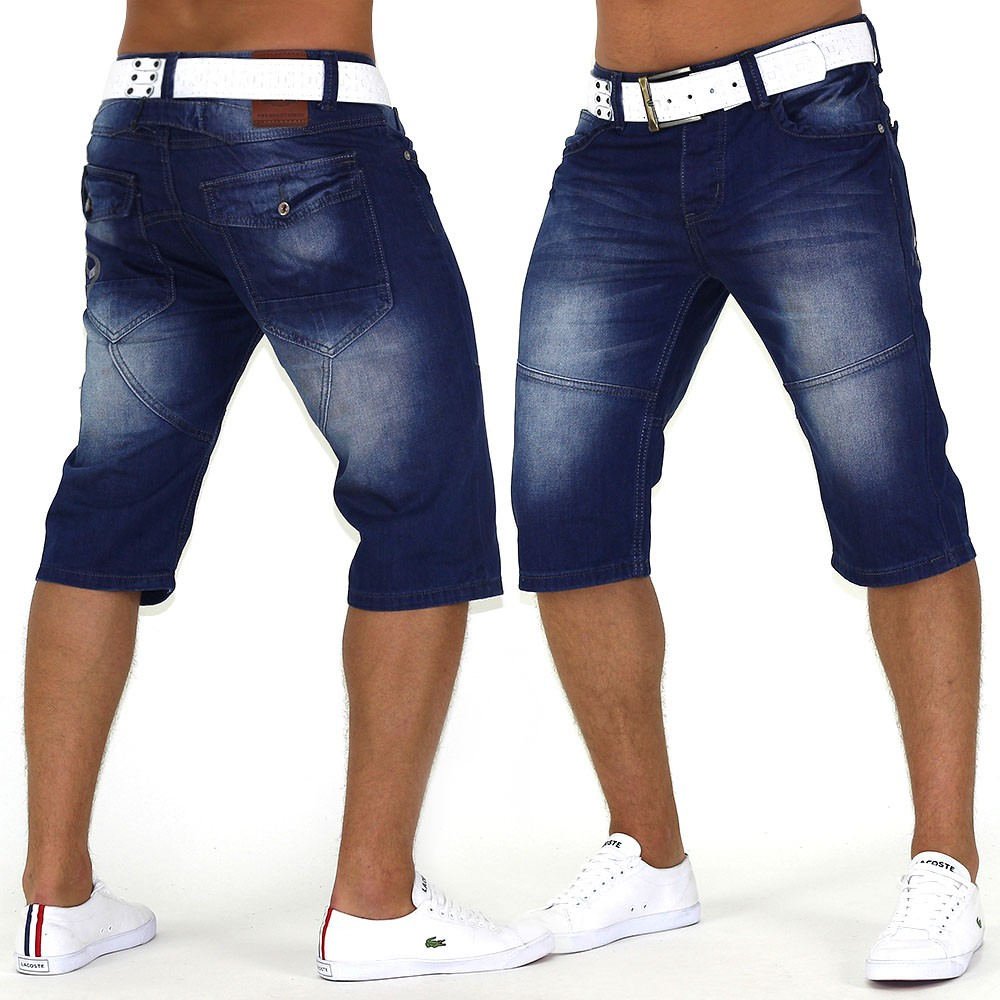 herren shorts g flex 69 star bermuda jeans capri kurze hose short casual blau ebay. Black Bedroom Furniture Sets. Home Design Ideas
