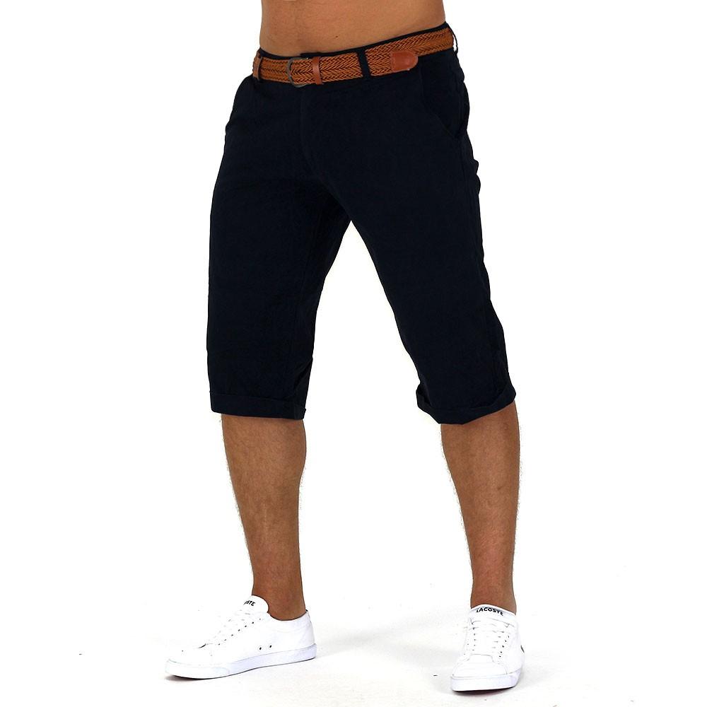 Herren Shorts Ocean Breeze Jeans Bermuda Chino Capri Kurze